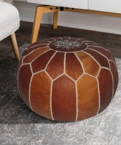 Moroccan Poufs and Ottoman